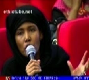 Azeb Mesfin at 9th party congress