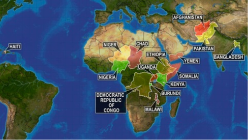 map of 2012 failed states