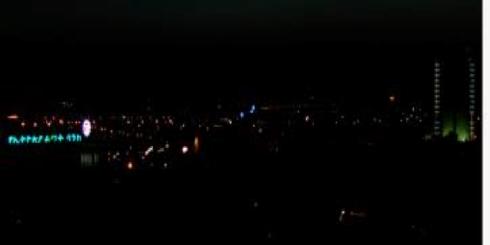 darkeness in ethiopian towns