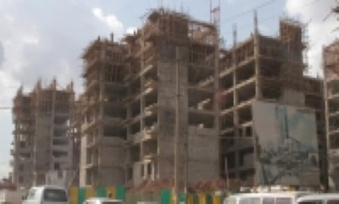 The non-ending housing construction in Addis Abeba (credit: Addis Admas)