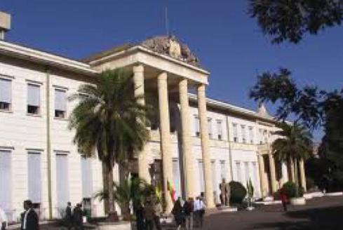 Ethiopia's Natioinal Palace Credit: ERTA