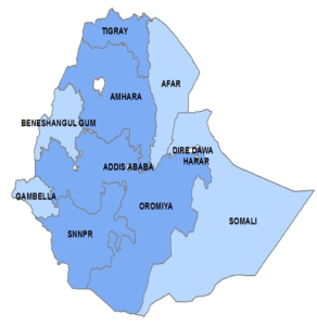 Mapping trachoma in Ethiopia (Credit: Ministry of Health and SCI)
