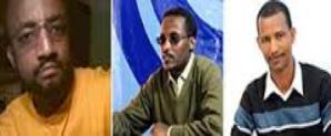 Daniel Shibeshi, Yeshiwas Asefa and Abraha Desta