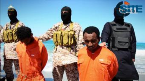 ISIL massacre of Ethiopian Christians