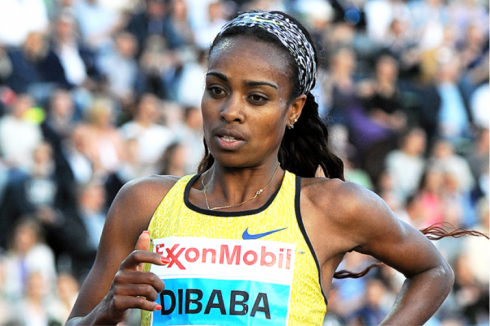 Genzebe Dibaba (Credit; Mark Shearman)