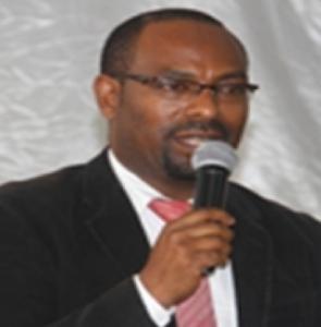 Dilla University President Dr Eng Seleshi Kore (Foto Addis Admas)
