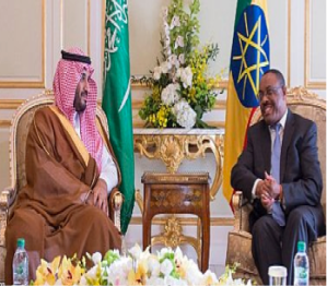 With deputy crown prince (foto Alriyadh)