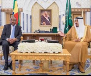With Saudi king (foto kuna)