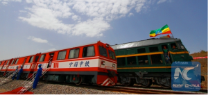 China-made trains with Chinese language code (EBC photo)