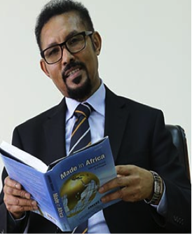 Author, researcher and TPLF official Arkebe Oubay (Foto Addis Fortune)