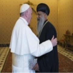 Pope & Patriarch (Foto Fana)