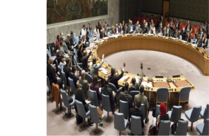 UNSC in session taking decision on sexual abuses by peacekeeping forces (Credit: UN News Center)