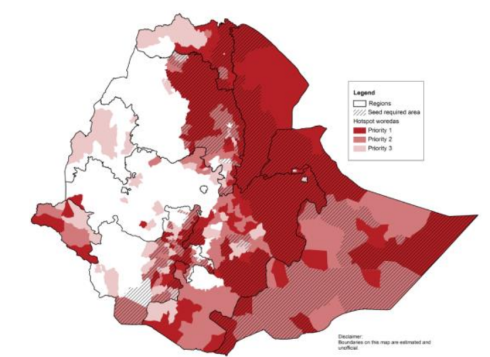 Map of Hotspot Classification and Seed Insecurity