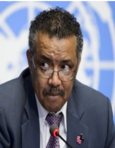 Tedros Adhanom, one of the six aspirants to the WHO post top job | Fabrice Coffrini/AFP via Getty Images via Politico