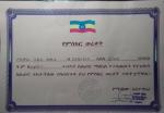 BefeQadu's certificate